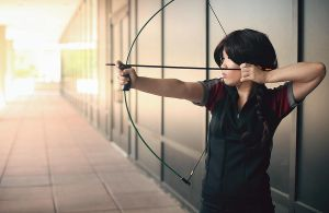 THG: The Girl on Fire by sorairo-days