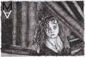 Bellatrix Lestrange by sarah-mca-art