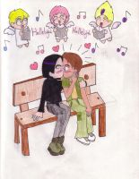 Ulrich and Yumi: SURPRISE by Anto-the-Artist