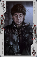 Game of Thrones card: Ramsay Bolton by Blu-Oltremare