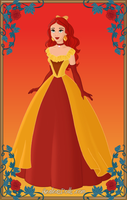 Sunset shimmer's prom dress by unicornsmile