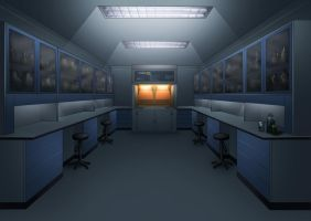 Science H+S Lab Concept by ClaytonBarton