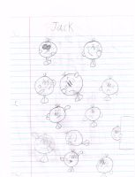 jack sketches by thecrazyworldofjack