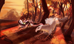 Autumn Forest YEH by Barkyn