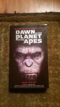 Dawn For The Planet of The Apes Book by Baloorule58