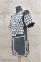 Thorin scale armour, three-quarter view by TheIronRing