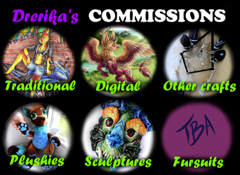 Drerika's Commissions by Drerika