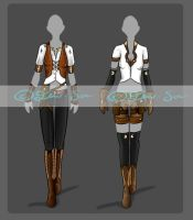 Full Clothing Outfits [SOLD] by JxW-SpiralofChaos
