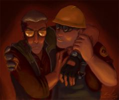 TF2 - Not feelin' good mate by Noretus