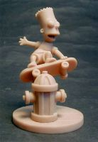 Bart Simpson by sculptor101