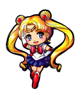Chibi Sailor Moon by Frills-Of-Justice