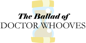 The Ballad of Doctor Whooves basic logo by Alkonium