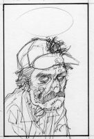 Zombie Selleck by ChrisMoreno