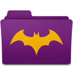 Batgirl Folder by Crisds03