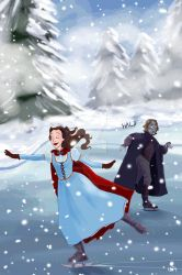 Rumbelle- Christmas 2014 by snoprincess