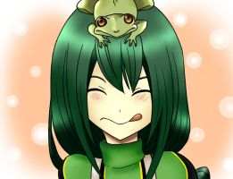 Frog Girl by chiorihime