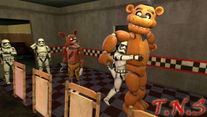 (SFM FNAF+SW)Stormtrooper At Freddy's by TheNightmareSimon