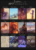 2017 Art Summary by synderen