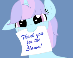 Thank you for the llama by Royal-Snowflake