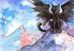 ACEO: Invincible by MoonsongWolf