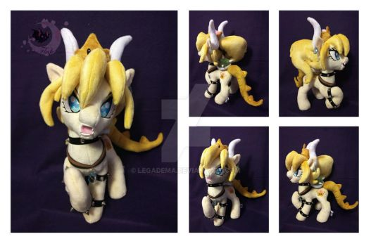 Custom plushie ponification BOWSETTE by Legadema