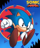 SONIC MANIA: SPIN by JamoART