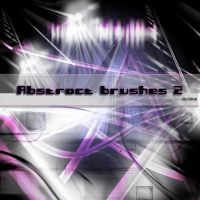 Abstract brushes 2 by flina