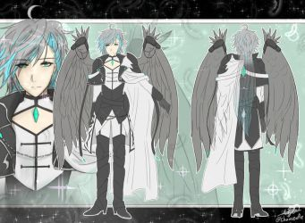 Costume design Angel soldier Ain by chaoscafehall