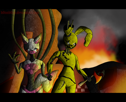 Vengeful Souls [FNAF] (Fixed Lighting/Textures) by Maxellth