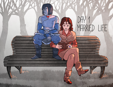 Korrasami Week 2017 - Day: 1 Married Life by Phi8