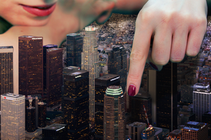 Giantess Vanessa Vs Impending Doom - By Dochamps by Cinematic-GTS