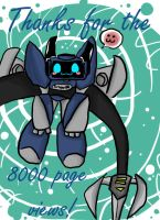 8000 pageviews... by AccidentProneComics
