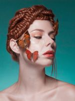 butterflies retouching (only after) by real-touch