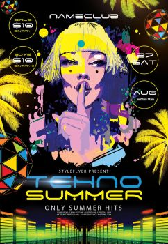 Techno-summer by Styleflyers