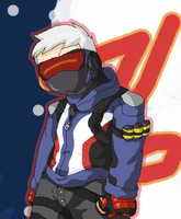 Soldier 76 (overwatch) by Delijz