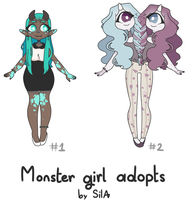 [CLOSED] Monster Girl Auction by Sila--Chan