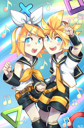 Len And Rin by re-11