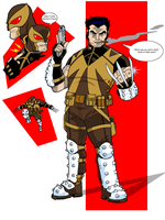 Project Rooftop:WOLVERINE by onecoyote