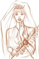 Red Bride WIP by Shi-san1987