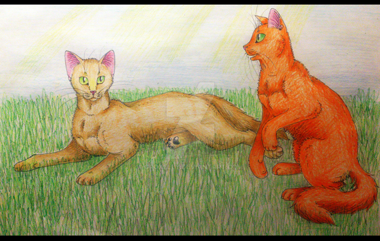 Sandstorm and Firestar by Groxelly