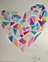 Gem Heart by kittenen