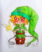I think my hat's a little too big :( [BEN Drowned] by Six-0-6