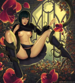 Tentacles and Orchids by veralde
