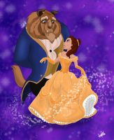 Beauty and the Beast by Spiritwollf