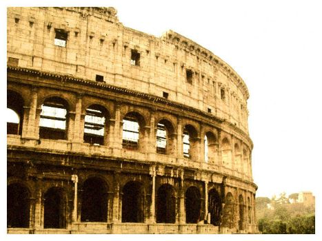 colosseum. by kristeenstonina