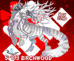{ Stygian Advent Day 3 } Birchwood by Zoomutt