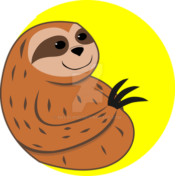 Sloth by meloland