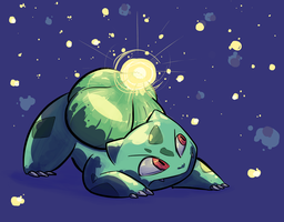 001-Bulbasaur by lesuperspecial