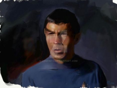 Spock by jonpinto