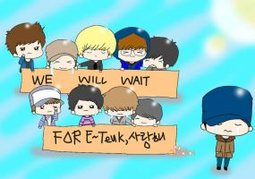 (FAN-ART) goodbye leeteuk by alito4o4